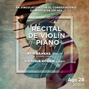 Recital de violín y piano