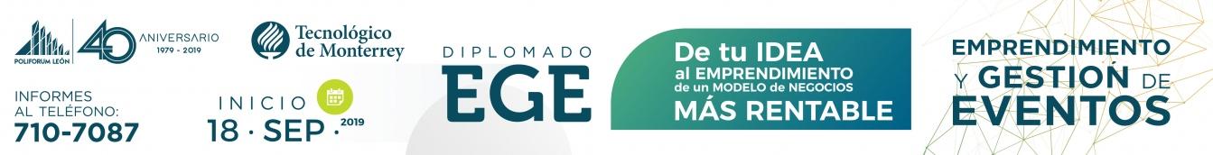 Diplomado emprendimiento y gestión de eventos EGE