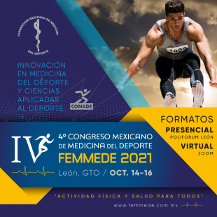4to. Congreso de Medicina del Deporte, FEMMEDE 2021