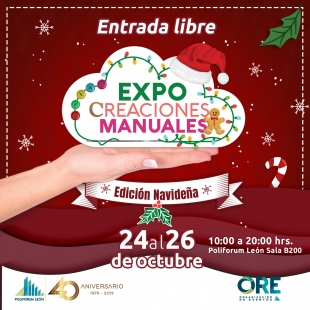 EXPO CREACIONES MANUALES NAVIDEÑA