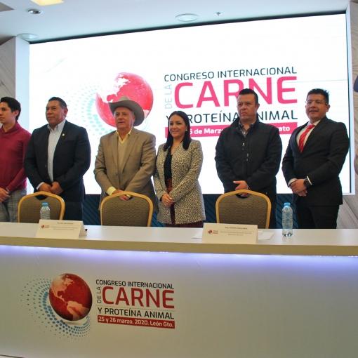 LEÓN, GUANAJUATO SERÁ LA SEDE DEL CONGRESO INTERNACIONAL DE LA CARNE Y PROTEÍNA ANIMAL 2020