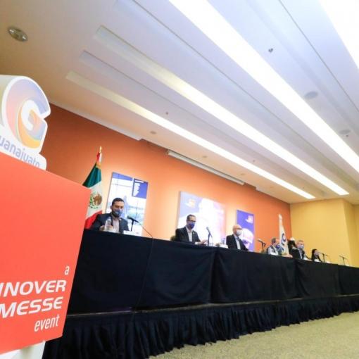 Firman contrato Hannover Fairs México y Poliforum León para la realización de las ediciones 2021, 2022 y 2023 de Industrial Transformation México