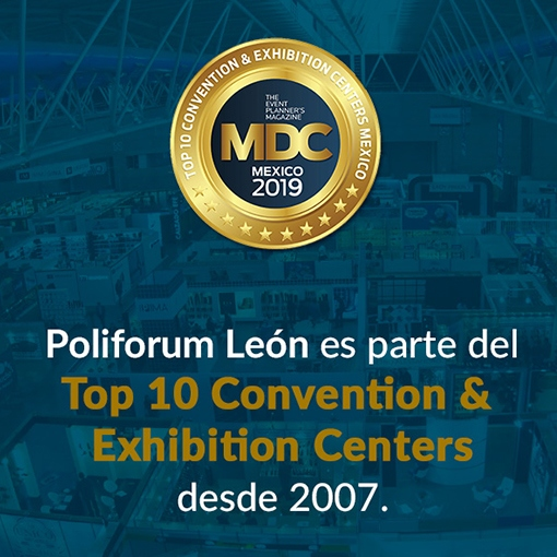 Eligen a Poliforum León como uno de los 10 mejores recintos de México
