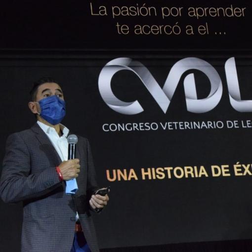 Presentación  Congreso Veterinario de León 25 aniversario